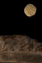 Lever de Lune sur Saint Nectaire